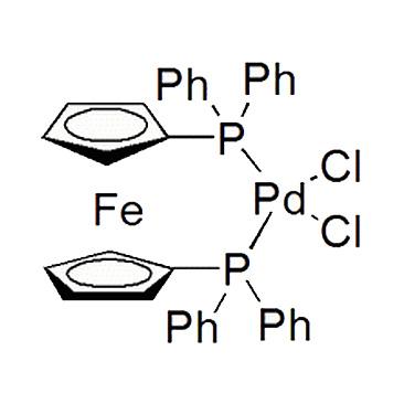 title='1,1'-二(二苯膦基)二茂铁二氯化钯(II)'