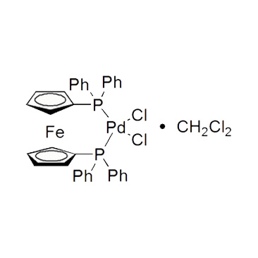 title='[ 1,1'-Bis (diphenylphosphino) ferrocene ] dichloropalladium (II) , complex with dichloromethane'