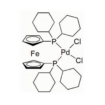 title='[ 1,1'-Bis (dicyclohexylphosphino) ferrocene ] dichloropalladium (II) '