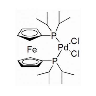 title='Dichloro[ 1,1'-bis (di-isopropylphosphine) ferrocene ] palladium (II) '