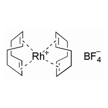 title='Bis (1,5-cyclooctadiene) rhodium (I)  tetrafluoroborate'