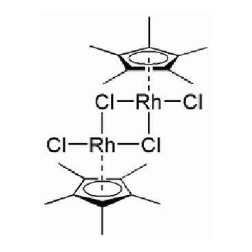 title='Dichloro (pentamethylcyclopentadienyl) rhodium (III)  dimer'