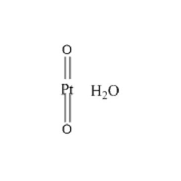 title='Platinum (IV)  oxide monohydrate'