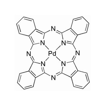 title='Palladium  (II) phthalocyanine'