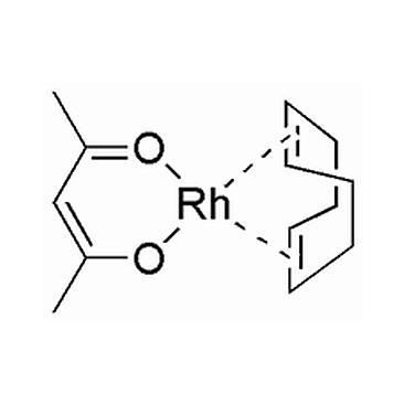 title='Acetylacetonato (1,5-cyclooctadiene) rhodium (I) '
