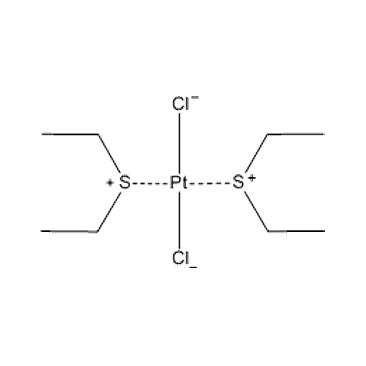 title='cis-Dichlorobis (diethylsulfide) platinum (II) '